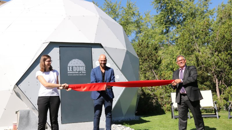 Sion: premier planétarium du Valais inauguré