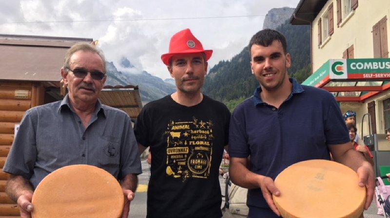 Le concours Fromage & Cime 2018 décerne deux médailles d'or à Ovronnaz