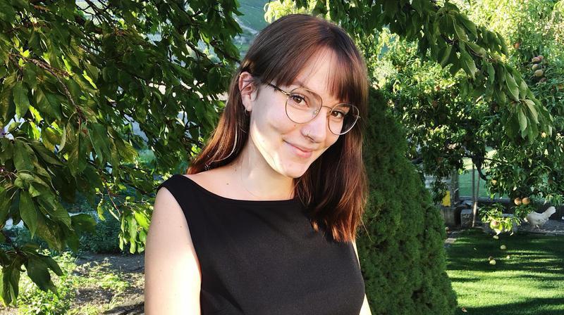 Noémie Schroeter, étudiante.