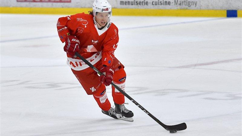 Romain Seydoux, joueur de Valais-Chablais.