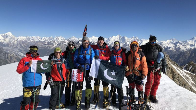 Montagne: comment un sommet du nord du Pakistan est-il devenu un peu valaisan?