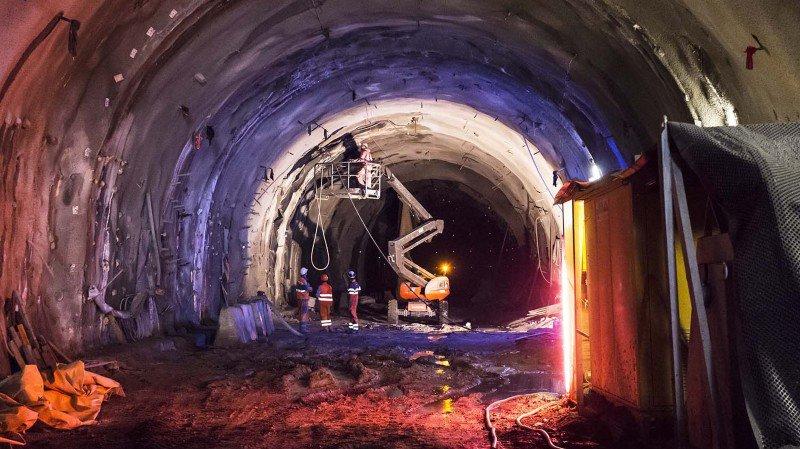 Les travaux sur le chantier autoroutier du tunnel de Riedberg vont se poursuivre.