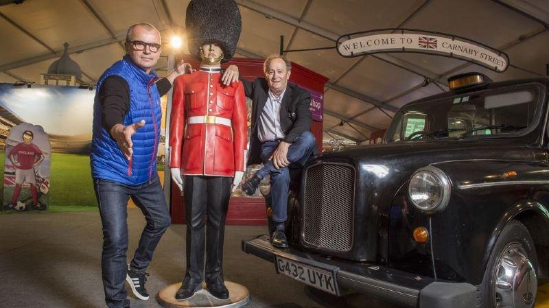 Foire du Valais: une exposition consacrée à Londres fait l'événement jusqu'au 7 octobre