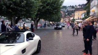 Tessin: un défilé pour les amateurs de voitures de sport