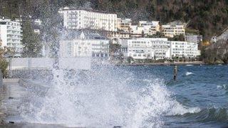 Météorologie: la tempête Fabienne balaye la Suisse en amenant des pluies et des orages