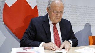 Conseil fédéral: Johann Schneider-Ammann démissionnerait à la fin de l'année selon la presse alémanique