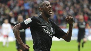 Gelson Fernandes buteur avec l'Eintracht Francfort