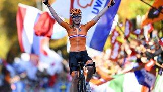 Cyclisme - Championnats du monde sur route: Anna van der Breggen en or, Jolanda Neff 22e
