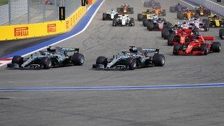 Formule 1 - Grand Prix de Russie: Hamilton gagne devant Bottas à Sotchi