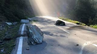 Eboulement dans le Val d'Hérens: le trafic est rétabli entre Praz-Jean et Evolène