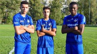 Trois jeunes footballeurs dopent les actions de l'USCM