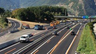 A9 Martigny et environs: les travaux 2018 bientôt achevés