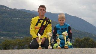 Deux pilotes de BMX du club de Sion sont vice-champions romands