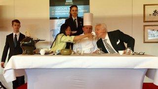 Swiss Dojo Saillon: un dialogue entre le thé et le vin arbitré par la grande gastronomie