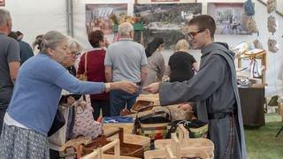 La richesse des échanges au marché monastique à Saint-Maurice