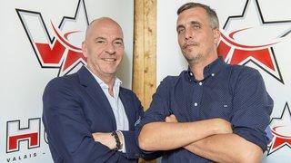 Patrick Polli et Steve Vergères, deux présidents de hockey faits pour s'entendre