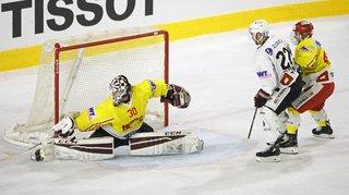 Le HC Sierre sort de la Coupe de Suisse la tête haute face à Fribourg