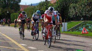Le cycliste Thibault Rossier a fêté un dernier podium sur la route avant de passer au cyclocross