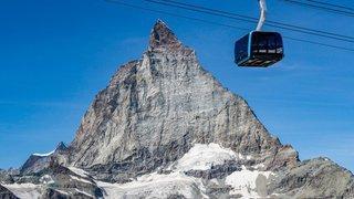 Zermatt: des cabines serties de cristaux où le sol se dérobe sous vos pieds