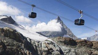 Zermatt: la plus haute télécabine tricâble du monde inaugurée