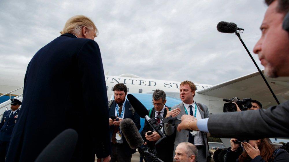 Donald Trump menace Riyad