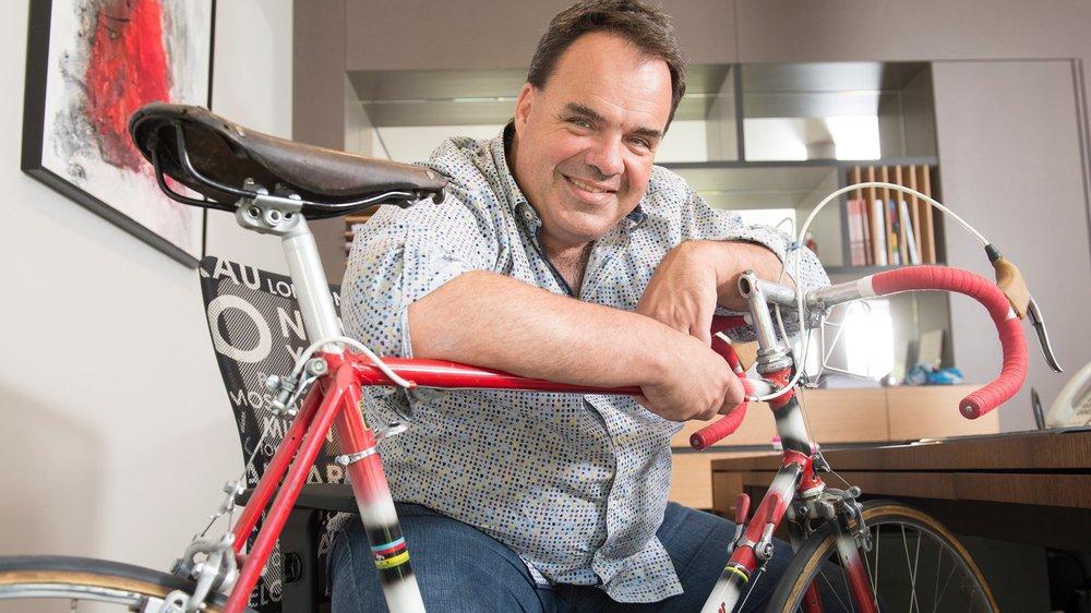 Alexandre Debons a déjà plusieurs organisations (Tour de Romandie, Championnats de Suisse, cyclosportive) à son actif. Il est aussi manager d'une équipe en Continentale la saison prochaine.