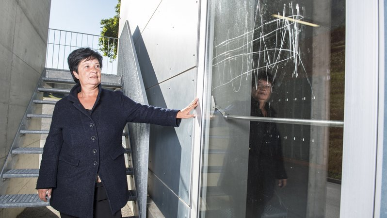 Confrontée au vandalisme, Grône songe à la vidéosurveillance