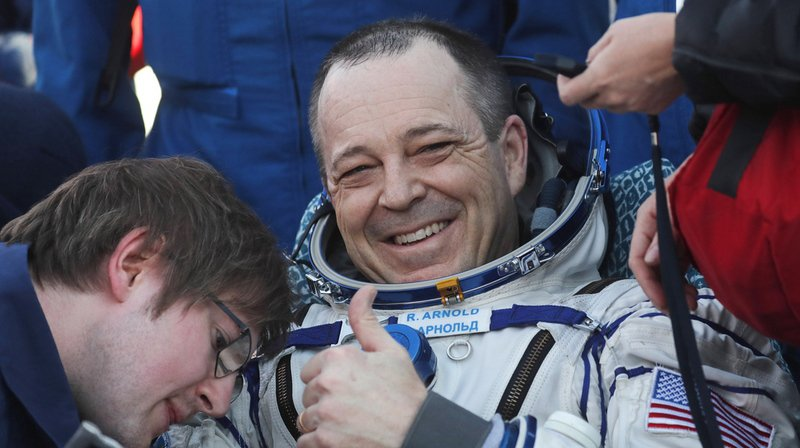 Espace: retour sur Terre de trois astronautes de l'ISS après 6 mois passés en orbite