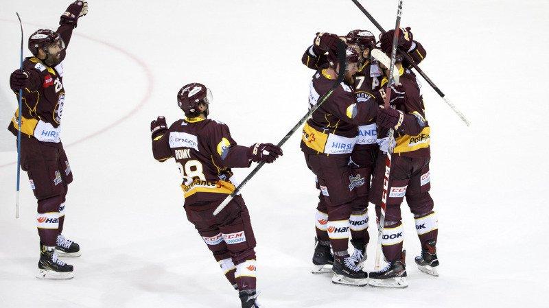 Hockey - National League: Bienne trébuche et Servette gagne