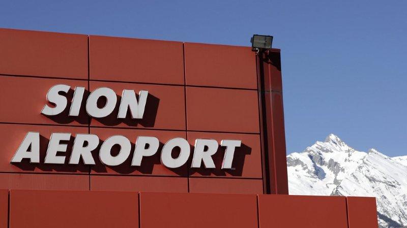 Réorganisation de l'aéroport de Sion: les usagers satisfaits