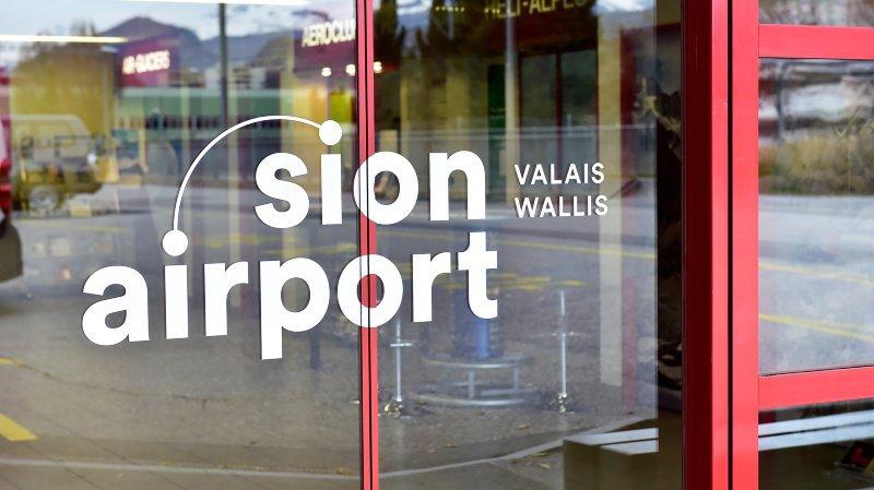 L'aéroport de Sion va changer d'organisation et son exploitation sera confiée à un privé