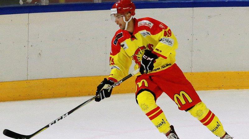 Maxime Montandon a pris part à la fête en marquant le deuxième but.