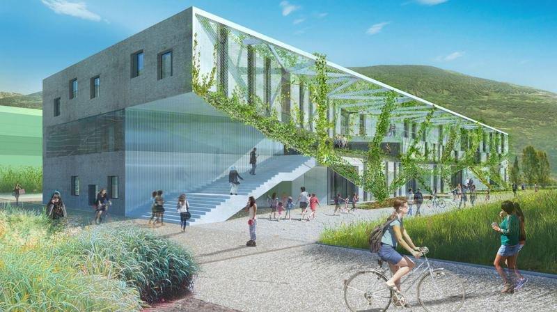 L'OSEO se construit un nouveau bâtiment à Sion