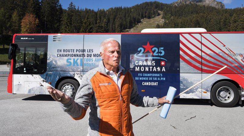 Crans-Montana dévoile ses cartes en vue des Mondiaux de ski