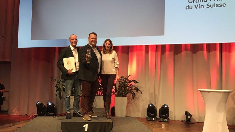 Grand Prix du vin suisse 2018: 15 trophées pour le Valais et le titre de Cave suisse de l'année à Diego Mathier