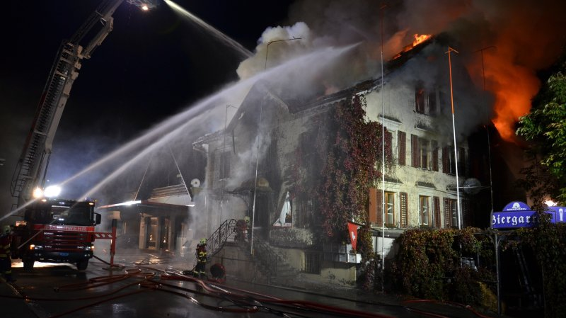 Saint-Gall: l'incendie d'un restaurant fait deux morts et deux blessés à Oberriet
