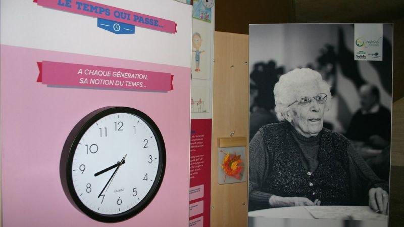 Des panneaux et des portraits réalisés par Claude Coeudevez sont visibles jusqu'au 2 novembre.