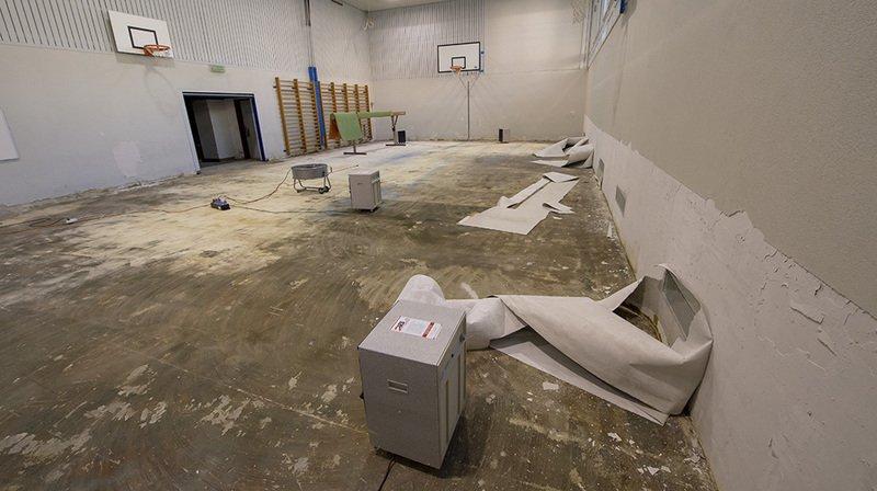 Sion: 780'000 francs de dégâts dans les salles de gym suite aux orages du mois d'août