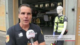 Genève: les pompiers initient la population aux gestes qui sauvent