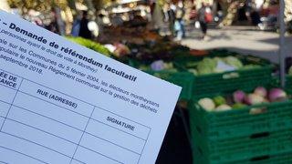 Monthey: la population semble partagée sur la question de la taxe au sac