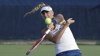 Tennis - Tournoi WTA de Linz: Teichmann domine la 80e joueuse mondiale, Vögele tombe en 3 sets