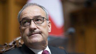Conseil fédéral: le ministre vaudois Guy Parmelin ne changera pas son projet de défense aérienne