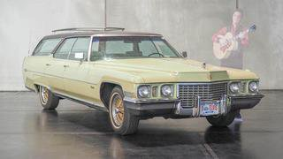 """La Cadillac """"favorite"""" d'Elvis Presley aux enchères en Autriche"""