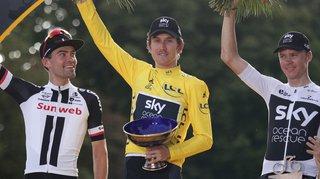 Cyclisme - Tour de France: le trophée de Geraint Thomas a été volé