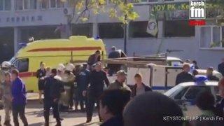 Carnage dans un lycée en Crimée: le bilan grimpe à 18 morts et des dizaines de blessés