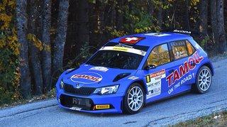 Olivier Burri toujours en tête du Rallye international du Valais