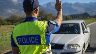 Montana-Village: un automobiliste se fait pincer à 108 km/h dans une zone limitée à 50