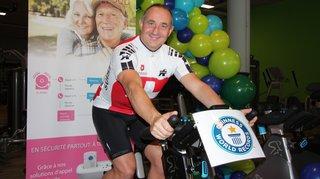 Guinness des records: Eric Vouillamoz pédalera sur son vélo de spinning durant sept jours non-stop