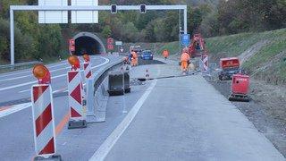 Martigny: des fermetures nocturnes de l'A21 sont agendées