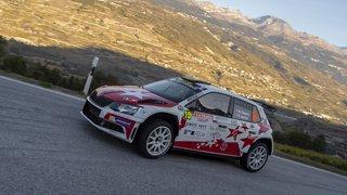 Le Valaisan Mike Coppens fait mieux que le futur champion suisse au Rallye international du Valais